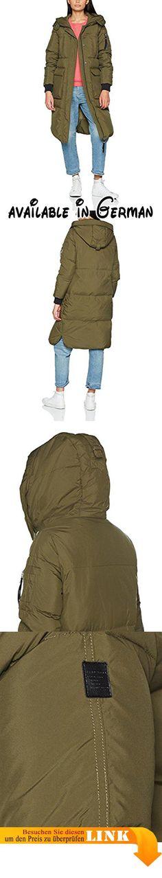 VERO MODA Damen Mantel Vmhappy Long Down Jacket Rep, Grün (Ivy Green), 36 (Herstellergröße: S).  #Apparel #OUTERWEAR