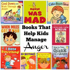 As parents, teachers, counselors, and caregivers, we need to help our children understand their feel Social Emotional Development, Social Emotional Learning, Toddler Development, Teaching Emotions, Anger Management Books, Emotional Books, Social Skills Activities, Emotions Activities, Preschool Books