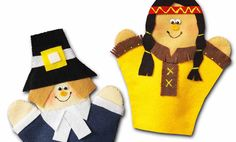Crafts n' things Weekly - thanksgiving puppets