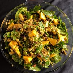 Proof that salads can be hearty and delicious while still being good for you.