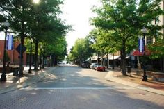 Hay Street, the main street in downtown Fayetteville
