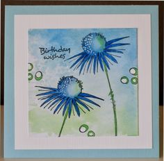 Anita's Creaties: Jofy bloemen Card Making Inspiration, Art Journal Inspiration, Making Ideas, Making Greeting Cards, Greeting Cards Handmade, Watercolor Cards, Watercolor Flowers, Cool Cards, Diy Cards