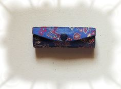 Blue Floral Lipstick Case with Mirror vintage by OodlesofBling http://etsy.me/1qydH4Y via @Etsy #vintage #fashion #makeup