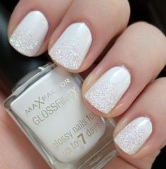 White Nail Polish Designs Beautiful 33 Trendy Glitter Nail Art Design Ideas to R.White Nail Polish Designs Beautiful 33 Trendy Glitter Nail Art Design Ideas to Rock 2016 Nail Designs Tumblr, Neon Nail Designs, Popular Nail Designs, White Nail Designs, Nail Polish Designs, Fingernail Designs, White Nail Polish, Glitter Nail Polish, White Nails
