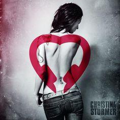 album cover art: christina stürmer - ich hör auf mein herz [04/2013]