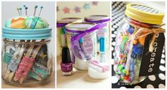 17 awesome gifts to offer in a glass jar 17 awesome gifts to offer in a glass - Diy Cadeau Maitresse, Date Night Basket, Diy Cadeau Noel, Diy Gifts For Friends, Circle Punch, Kirigami, Keepsake Boxes, Glass Jars, Kids And Parenting