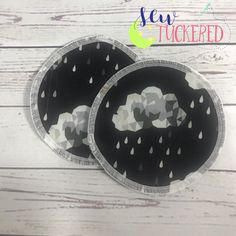 Rain Clouds Everyday Nursing Pads