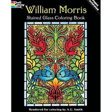 Adult Coloring Book William Morris Designs Stress Relief Doodle Creative Relax