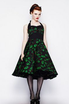 Hell Bunny dresses make me want to go swing dancing. Immediately!