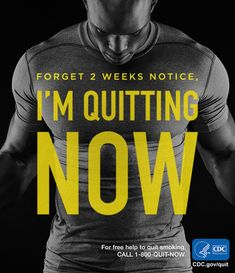 Ready or not, we're here for you when you choose to quit smoking. For free help: 1-800-QUIT-NOW. #quitsmoking