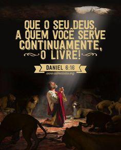 Castigado por ser uma pessoa de oração, Deus o livrou, fechando a boca dos leões! Deus cuida de seus filhos!