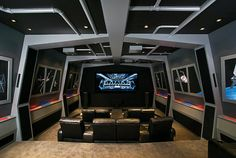 Home theatre fit for a gamer.