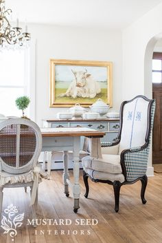 french wing chair | miss mustard seed
