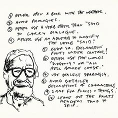 Writing Tips by Henry Miller, Elmore Leonard, Margaret Atwood, Neil Gaiman & George Orwell