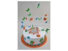 Butterfly Explosion Cake