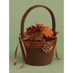 Fall In Love Flower Girl Basket