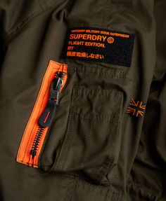 Shop Superdry Mens Microfibre Parka Coat in Dark Army. Buy now with free delivery from the Official Superdry Store. Shirt Jacket, Jacket Men, Men's Jackets, Winter Jackets, Denim Shirt Men, Superdry Mens, Parka Coat, Boys Shirts, Men Casual