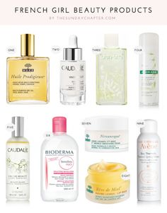 french girl beauty products