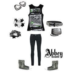 """""""abbey dawn band chicks"""" by avril-lavigne-fan-forever on Polyvore"""