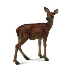 Red Deer, Miniature Fairy Gardens, Prehistoric, Dog Toys, Giraffe, Ebay, Garden Animals, Woodland Baby, Random