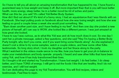How  did she discover Yoli Better Body System.sydneyco6.yoli.com