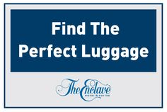 The perfect luggage for your trip to Orlando!