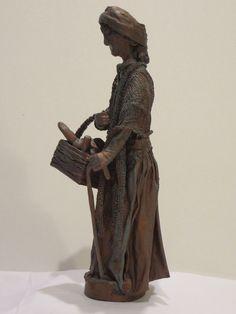 Finished Paverpol Sculpture, Side.