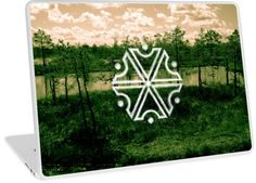 'Perun, Slavic God of Thunders symbol (Swamps)' Laptop Skin by WearGraphics Framed Prints, Canvas Prints, Art Prints, Laptop Skin, Thunder, Macbook, Symbols, Phone Cases, God