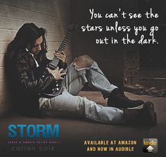 Storm (Ashes & Embers book 1) Model is Matthew Maguire