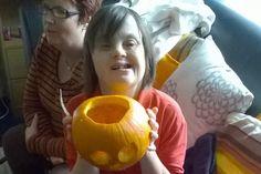 #ServiceUsers have been getting prepared for #Halloween! #pumpkincarving #HappyHalloween