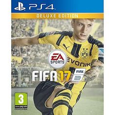 FIFA 17 DELUXE EDITION PS4 UK PAL GAME DLC BRAND NEW - FREE UK P&P
