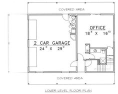 Traditional Floor Plan - Lower Floor Plan Plan #117-535