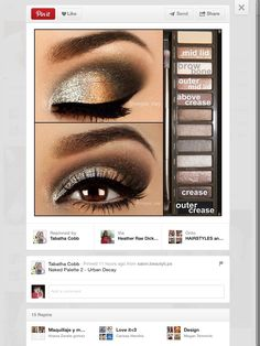 How To Fix A Broken Makeup Pallet:)Using urban decays Naked Pallet ! Perfect holiday makeup:)