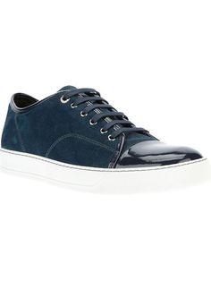LANVIN Bi-Colour Sneaker. #lanvin #shoes #sneaker