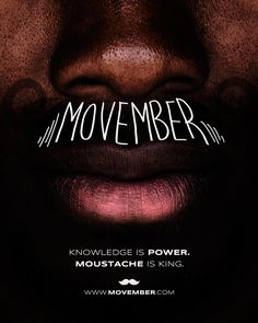 Movember Posters - Moustache is King Series by Butcher Billy, via Behance