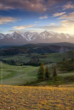 Russia has a lot of beautiful natural places