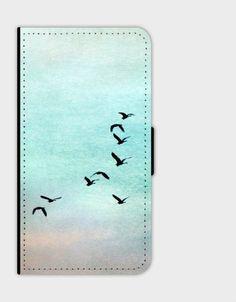Handytaschen - Flip Smartphone Case S8 - ein Designerstück von Heavensblue-Fotografie bei DaWanda