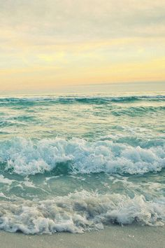beach, ocean, photography, sunset, tumblr, waves