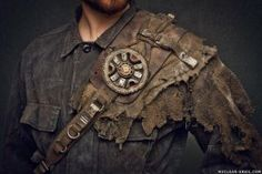 Wasteland Flower Shoulderpad by NuclearSnailStudios
