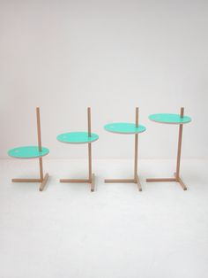 Side table for an apple. Tomás Alonso