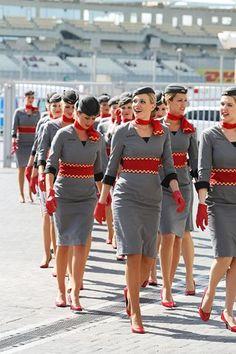 Etihad Flight Attendants - F1  Grand Prix