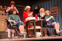 The girls of Steel Magnolias. Opening Friday, March 15 at the Missoula Community Theatre.