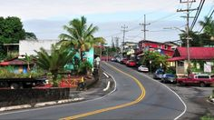 Pahoa, Hawaii, the small town where I went to school from 1970-74.