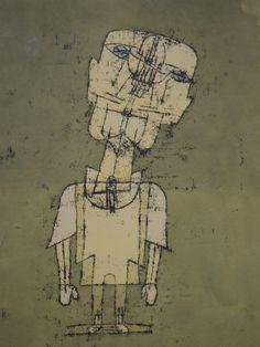 Paul Klee, Autoportrait, expo Autoportraits de Rembrandt au selfie, MBA Lyon