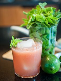 Spicy Watermelon Cooler Mocktail