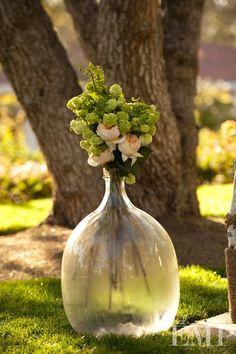 Bouquet in a bottle.