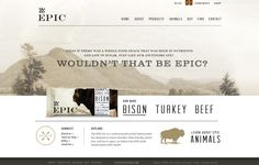 Epic Bar #webdesign #nature #mountains #simple