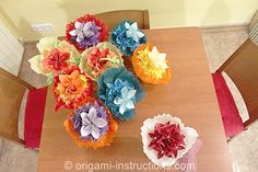 origami wedding cake topper - Google Search