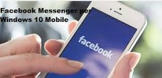 Primi Screenshot Facebook Messenger W10M