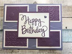 Stylized Birthday Stamp Set